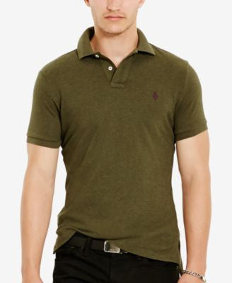Polo Ralph Lauren Men's Custom-Fit Mesh Polo Shirt