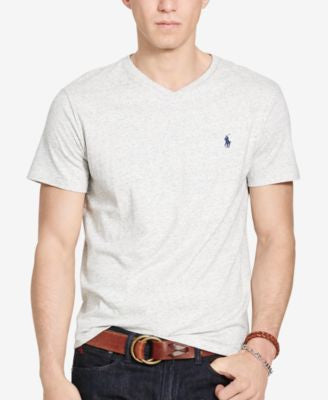 Polo Ralph Lauren Men's Relaxed-Fit Jersey V-Neck T-Shirt
