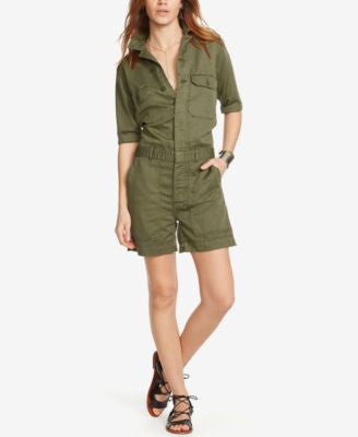 Denim & Supply Ralph Lauren Utility Romper