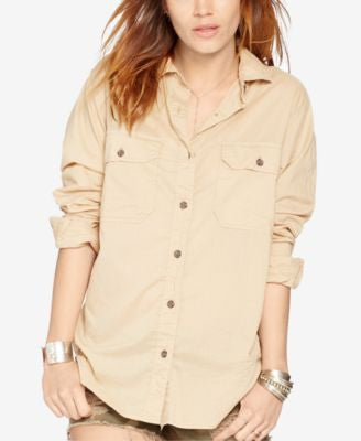 Denim & Supply Ralph Lauren Surplus Boyfriend Shirt