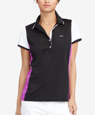 Lauren Ralph Lauren Colorblocked Piqué Polo Shirt