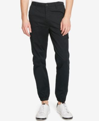 Kenneth Cole Reaction Men's Lightweight Twill Joggers