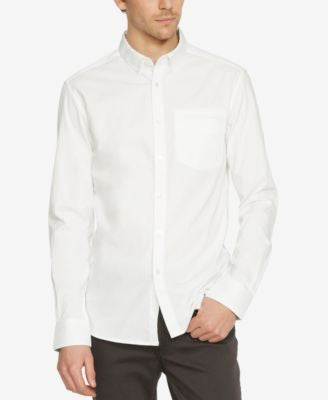 Kenneth Cole New York Men's Button-Down Long-Sleeve Shirt