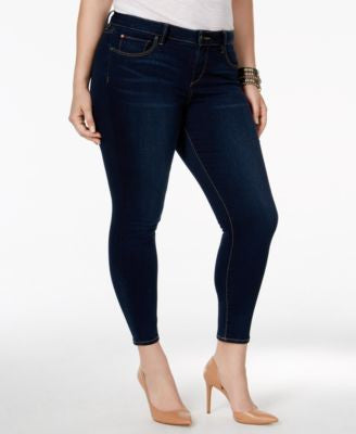 SLINK Jeans Plus Size Ankle Jeggings