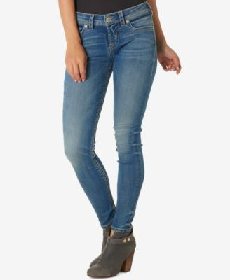 Silver Jeans Co. Indigo Wash Skinny Jeans
