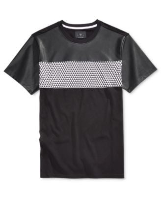 GUESS Geometric Print T-Shirt