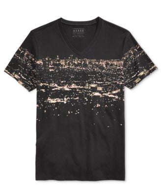 GUESS Men's Graphic-Print T-Shirt