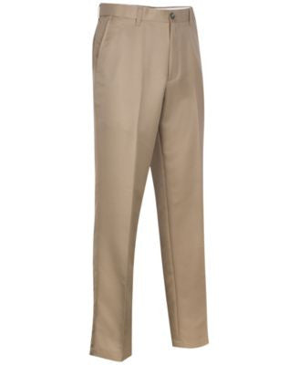Greg Norman for Tasso Elba Big & Tall 5 Iron Flat Front Golf Pants