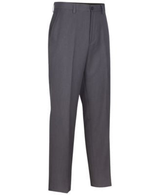 Greg Norman for Tasso Elba Men's Big & Tall Heathered Golf Pants
