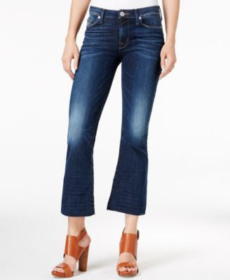 Hudson Jeans Battalion Wash Cropped Bootcut Jeans