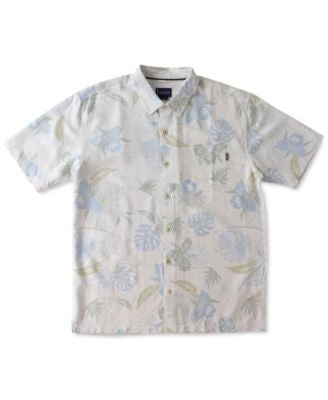Jack O'Neill Men's Oceanside Floral-Print Short-Sleeve Shirt