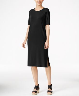 Eileen Fisher Midi T-Shirt Dress