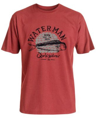 Quiksilver Waterman Men's Good Eats Short-Sleeve T-Shirt