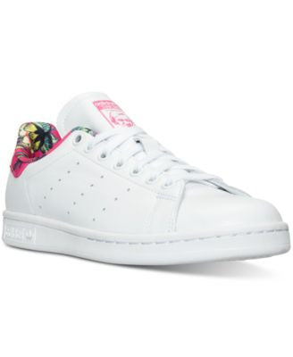 adidas Women's Stan Smith Farm Casual Sneakers from Finish Line