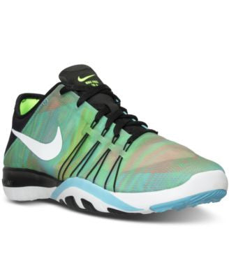 Nike Women's Free TR 6 Print Training Sneakers from Finish Line