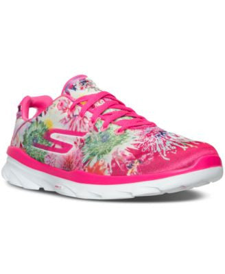 Skechers Women's GOfit TR - Bay Rose Training Sneakers from Finish Line