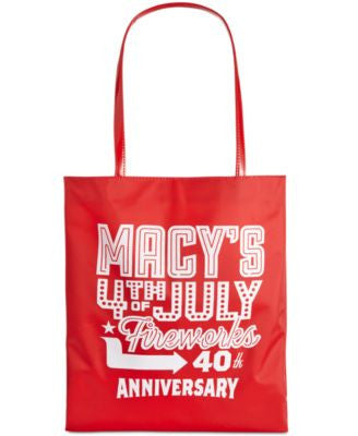Vogily 40th Anniversary Fireworks Canvas Tote