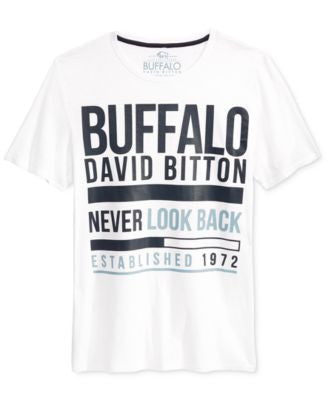 Buffalo David Bitton Men's Nelmano Graphic-Print T-Shirt