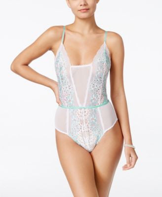 Flora by Flora Nikrooz Adore Lace and Chiffon Teddy