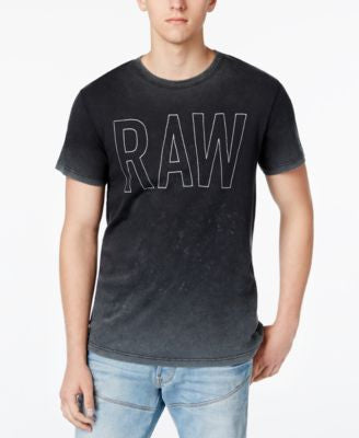 GStar Men's Raw Xard Ombré Graphic-Print T-Shirt