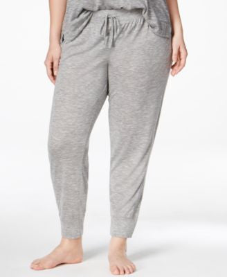 Alfani Plus Size Jogger Pajama Pants, Only at Vogily