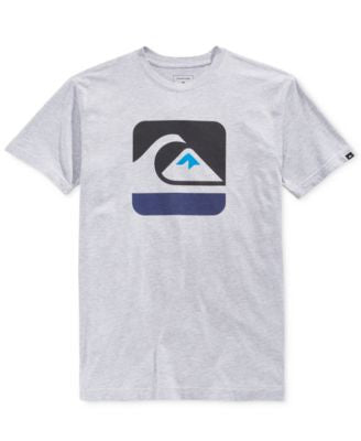 Quiksilver Men's Outta Bounds Graphic-Print Logo T-Shirt