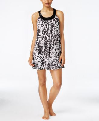 Alfani Printed U-Neck Chemise, Only at Vogily