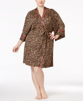 Thalia Sodi Plus Size Printed Knit Wrap, Only at Vogily