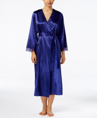 Thalia Sodi Lace-Trimmed Robe, Only at Vogily