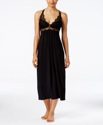 Thalia Sodi Lace-Trimmed Knit Nightgown, Only at Vogily