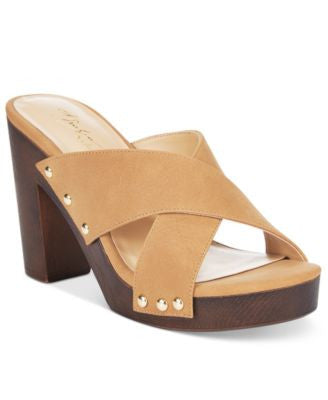Thalia Sodi Ivanna Crisscross Platform Sandals, Only at Vogily