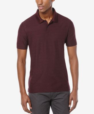 Perry Ellis Men's Reverse Striped Polo