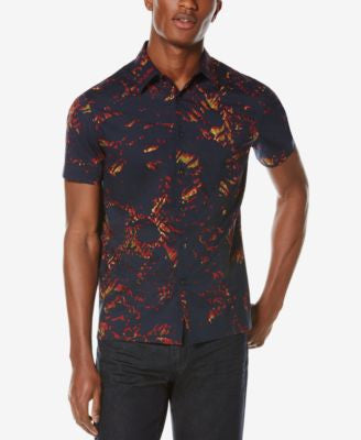 Perry Ellis Men's Sunfire Short-Sleeve Shirt