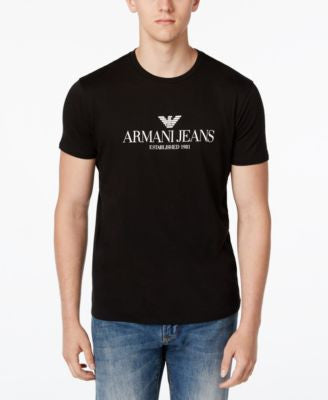 Armani Jeans Men's Graphic-Print T-Shirt