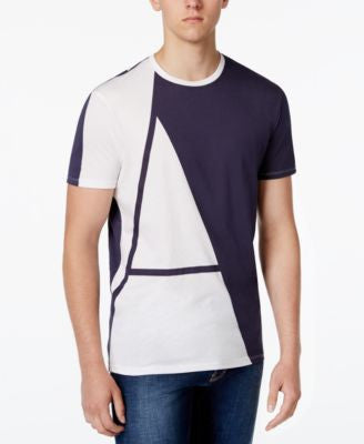 Armani Jeans Men's Colorblocked T-Shirt