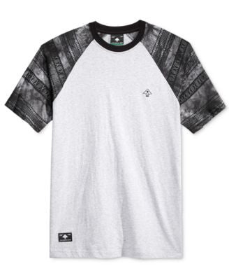LRG Men's Empire Heather Graphic-Print Raglan-Sleeve T-Shirt