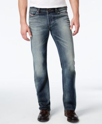 Diesel Men's Viker 0885K Straight Fit Jeans