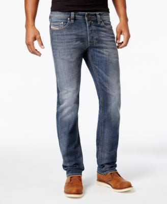 Diesel Men's Safado 0885K Straight Fit Jeans