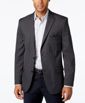 Alfani Men's Slim-Fit Charcoal Sport Coat