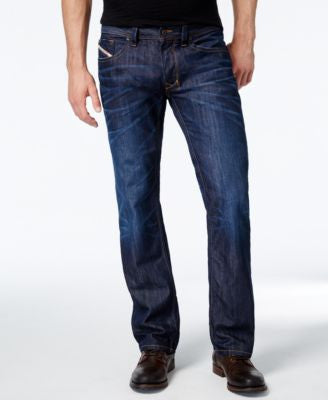 Diesel Men's Larkee 0806W Straight Fit Jeans