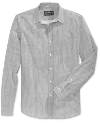 American Rag Men's Long-Sleeve Shirt, Only at Vogily
