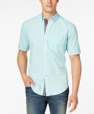 Club Room Men's Short-Sleeve Shirt, Only at Vogily
