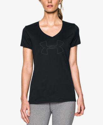 Under Armour UA Tech™ Logo V-Neck T-Shirt