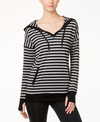 Ideology Striped Hooded Tunic, Only at Vogily