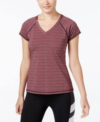 Ideology Striped V-Neck Top, Only at Vogily