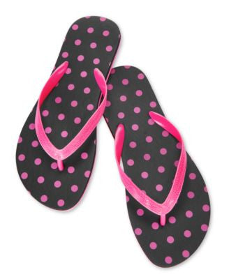 Receive FREE Polka Dot Flip-Flops with any $50 Impulse beauty purchase