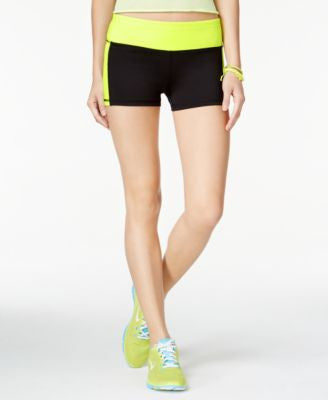 Material Girl Active Juniors' It's Go Time Graphic Shorts, Only at Vogily