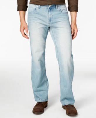 INC International Concepts Men's Relaxed-Fit Light Wash Jeans, Only at Vogily