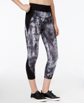 Calvin Klein Performance Printed Compression Capri Leggings