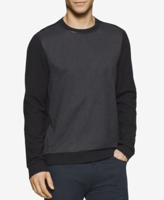 Calvin Klein Men's Ponte Stripe Sweater